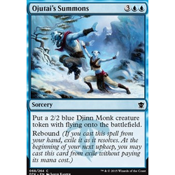 Magic löskort: Dragons of Tarkir: Ojutai's Summons
