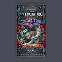 Netrunner LCG: 2015 Runner World Champion Deck