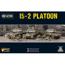 Soviet IS2 Platoon (Plastic)
