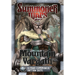 Summoner Wars: Mountain Vargath Second Summoner Faction Deck