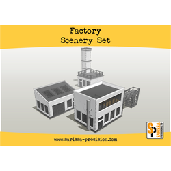Warlord Scenery: Factory Scenery Set