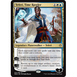 Magic löskort: War of the Spark: Teferi, Time Raveler