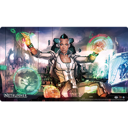 FFG Netrunner Play Mat New World Order
