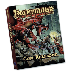 Pathfinder RPG: Core Rulebook (1st ed, pocket)
