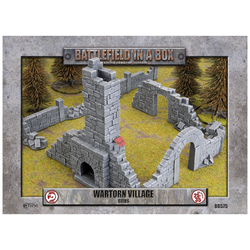 Battlefield in a Box: Wartorn Village - Ruins