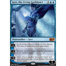Magic löskort: M15: Jace, the Living Guildpact