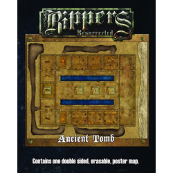Deadlands: Rippers Resurrected - Ancient Tomb Map (Savage Worlds)