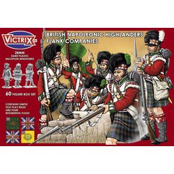 Victrix 28mm: Napoleonic Highland Infantry Flank Companies