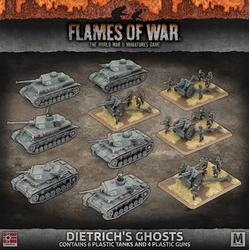 German Army Box Dietrich's Ghosts (plastic)