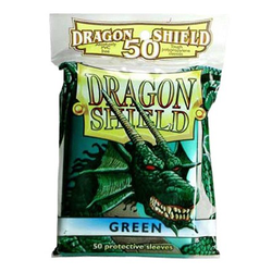 Dragon Shield Sleeves - Standard Green (50 ct. in bag)