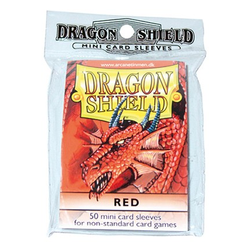 Dragon Shield Sleeves - Mini Red (50 ct. in bag)