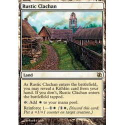 Magic löskort: Duel Decks: Venser vs Koth: Rustic Clachan