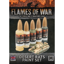 British Desert Rats Paint Set