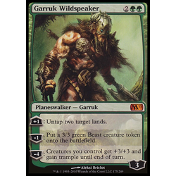 Magic löskort: Core Set 2011 (M11): Garruk Wildspeaker