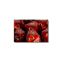 Scarab™ Scarlet™/gold (36-dice set)