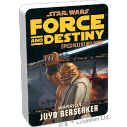 Star Wars: Force and Destiny: Specialization Deck Juyo Berserker