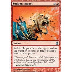 Magic Löskort: Premium Deck - Fire and Lightning: Sudden Impact (Foil)