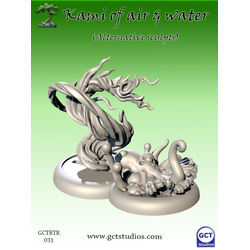 Temple of Ro-Kan: Kami of Water and Air (Alternative Sculpts)