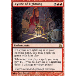 Magic löskort: Guildpact: Leyline of Lightning