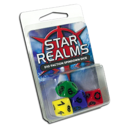 Star Realms: 16mm D10 Faction Spindown Dice (4)