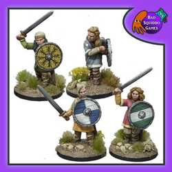 Shieldmaiden Warriors (with Swords)