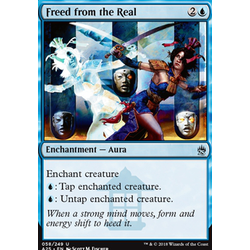 Magic löskort: Masters 25: Freed from the Real
