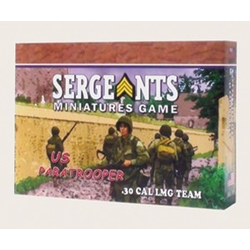 Sergeants Miniature Game: US .30 Cal MG Team