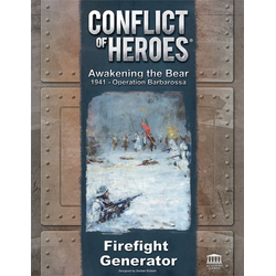 Conflict of Heroes: Awakening the Bear 2nd Ed - Firefight Generator Expansion