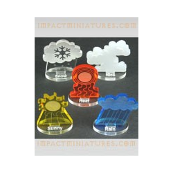 Fantasy Football Accessories - Weather Tokens (Impact)