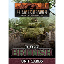 D-Day: British Unit Cards
