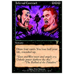 Magic löskort: 7th Edition: Infernal Contract