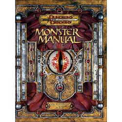 D&D 3.5 Monster Manual (Reprint)