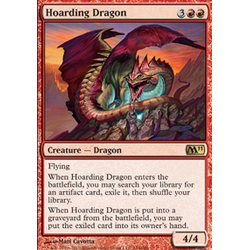 Magic löskort: Core Set 2011 (M11): Hoarding Dragon