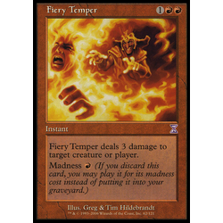 Magic löskort: Timeshifted: Fiery Temper