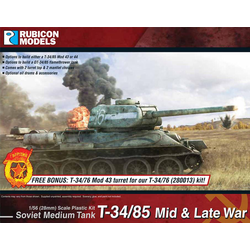 Rubicon: Soviet T-34/85 – Mid & Late War