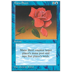 Magic löskort: 4th Edition: Mana Short