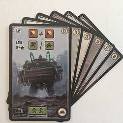 Scythe: Promo Pack #4 Factory Cards - 6 Promo Cards