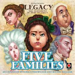 Legacy: Testament of the Duke de Crecy: Five Families