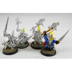 Dark Elf: Black Ark Corsairs (4 st, Metall)