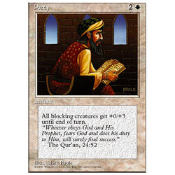 Magic löskort: 4th Edition: Piety