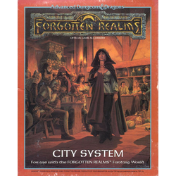 AD&D: Forgotten Realms - City Systems, Box