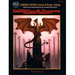 ADD 2nd ed: Campaign Option: Council of Wyrms Setting