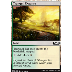 Magic löskort: Core Set 2019: Tranquil Expanse