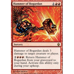 Magic Löskort: Premium Deck - Fire and Lightning: Hammer of Bogardan (Foil)