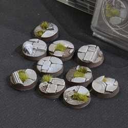Battle Ready Bases - Temple 25mm Round (10)