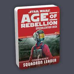 Star Wars: Age of Rebellion: Specialization Deck - Commander Squadron Leader