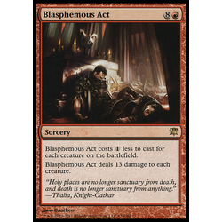 Magic löskort: Innistrad: Blasphemous Act