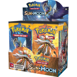 Pokemon TCG: Sun & Moon Display (36 boosters)