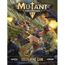 Mutant Chronicles RPG (3rd ed): Core Rulebook (standard ed)