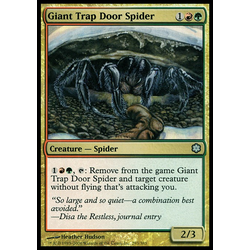 Magic löskort: Coldsnap: Giant Trap Door Spider